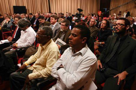 Diálogo sobre la Constituyente en Venezuela. Foto: AVN.