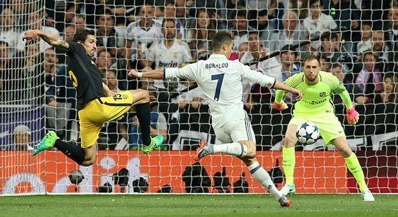 Cristiano anotó el segundo gol con un gran disparo en el límite del área. Foto: Reuters.