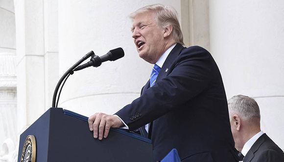El presidente de los Estados Unidos, Donald Trump. Foto: EFE.