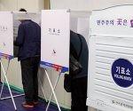 Elecciones en Corea del Sur. Foto: EFE.