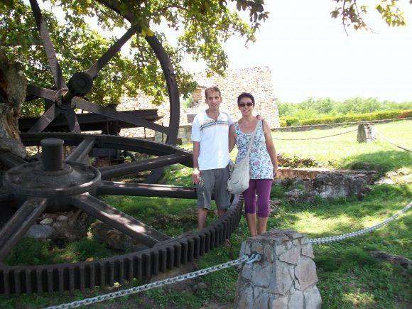 En el sitio histórico de La Demajagua, lugar donde Carlos Manuel de Céspedes inició las Guerras independentistas en Cuba en 1868. Foto: Ramón Vázquez, España / Cubadebate