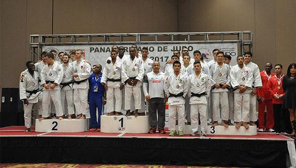 Equipo masculino de judo se corona en el panamericano. Foto tomada de Jit.