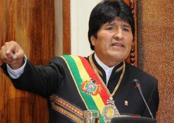 Evo Morales. Foto tomada de CNN Chile.