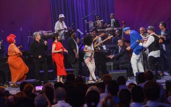 Gala con motivo del Día Internacional del Jazz, en el Gran Teatro de La Habana Alicia Alonso, Cuba, el 30 de abril de 2017.   ACN FOTO/Marcelino VÁZQUEZ HERNÁNDEZ