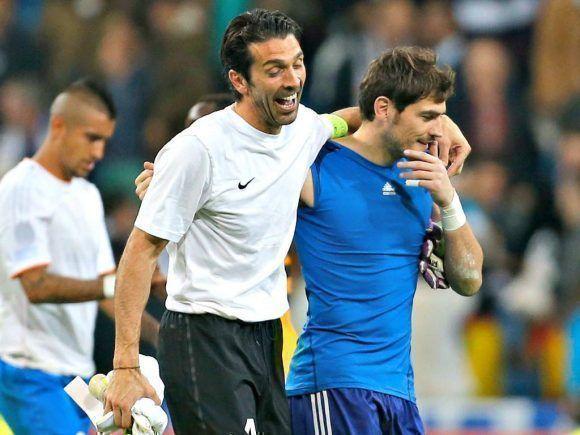 El arquero italiano y el español. Foto tomada de El Heraldo.