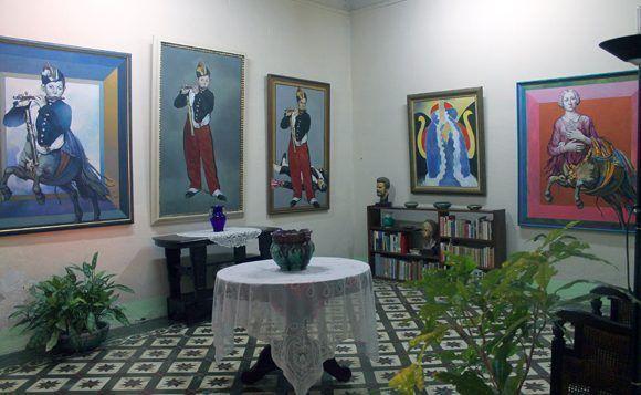 Gibara casa Cosme Proenza