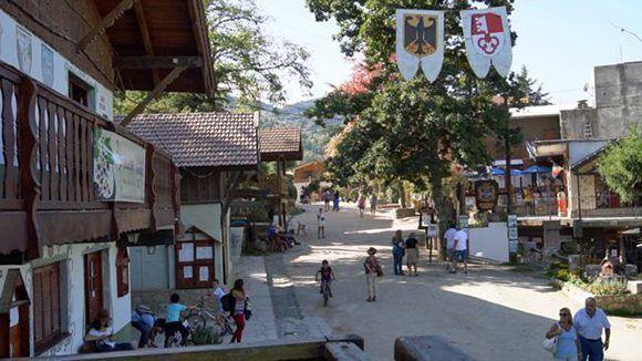 La Cumbrecita está a mil 500 metros sobre el nivel del mar. Y no tiene más de mil habitantes. Foto: BBC.