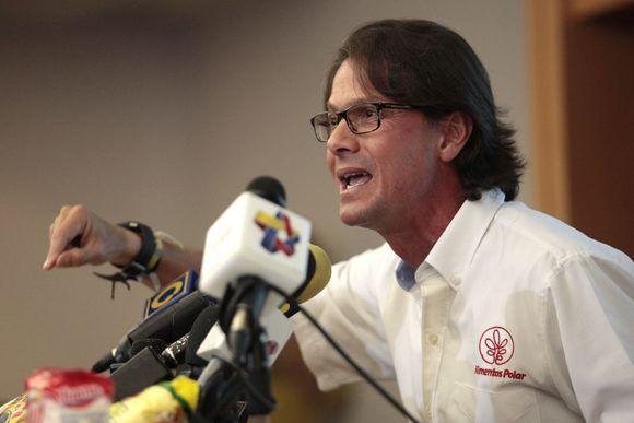 Lorenzo Mendoza, un empresario venezolano que financia a la violenta oposición. Foto: larazon.net