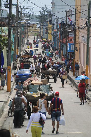 Gibara Calle principal