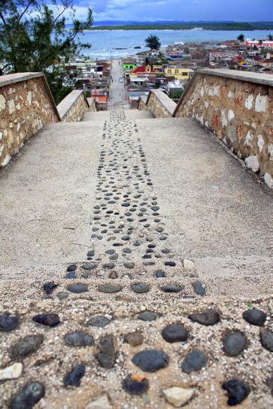 Gibara escalinata