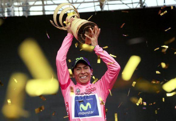 Nairo Quintana ganó la vuelta en 2011. Foto: AFP.