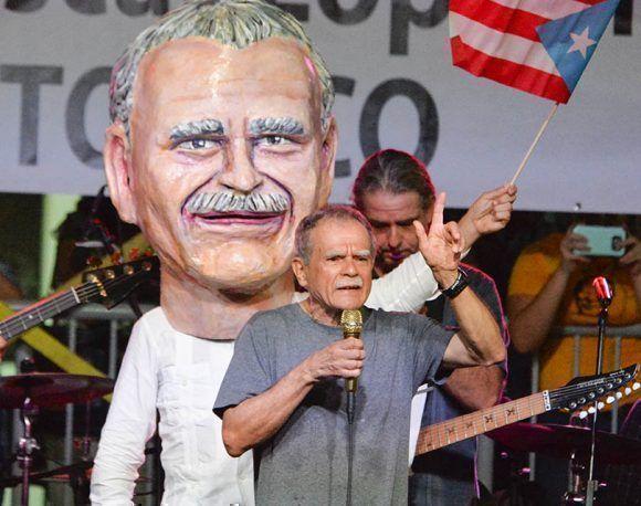 20170517   Plaza de la Convalecensia  Rio Piedras.   Fiesta de Pueblo para Oscar Lopez.Foto por JOSE RODRIGUEZ ©
