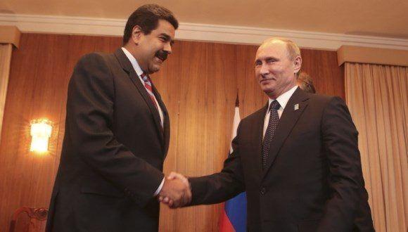 Nicolás Maduro y Vladímir Putin durante uno de sus encuentros. Foto: Reuters.