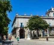 El palacio del Segundo Cabo se encuentra en una esquina de la Plaza de Armas en La Habana Vieja. Foto: ACN/ Abel Padrón.