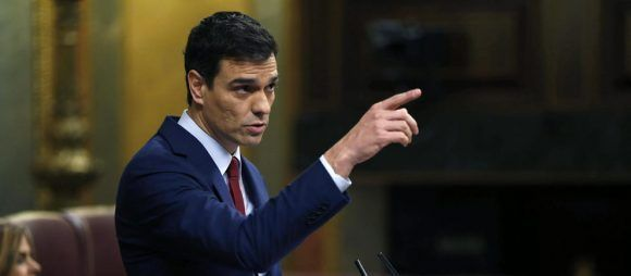 Pedro Sánchez. Foto tomada de infoLibre.