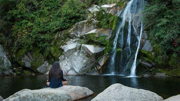 Ríos, quebradas y montañas son algunos de los paisajes que se encuentran por la zona. Foto: Comuna La Cumbrecita.