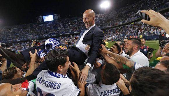 Real Madrid celebra su 33 título de Liga. Foto tomada de El País.