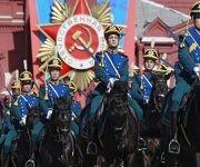 Con grandes desfiles militares, Rusia celebra la victoria sobre el fascismo. Foto: EFE.