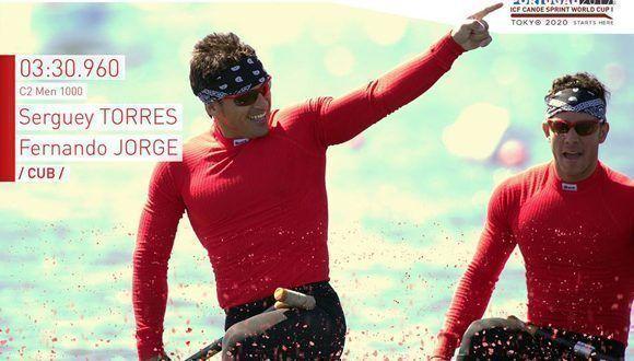 Foto: Perfil en Facebook de Canoe Sprint Portugal.