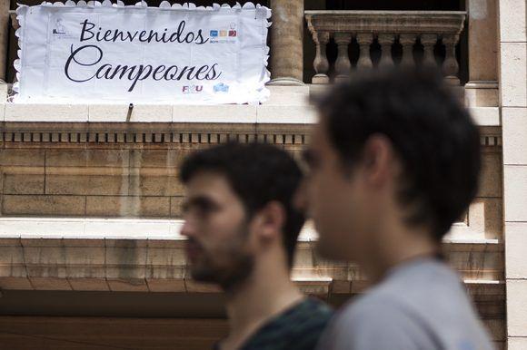 Campeones. Foto: L Eduardo Domínguez/ Cubadebate.