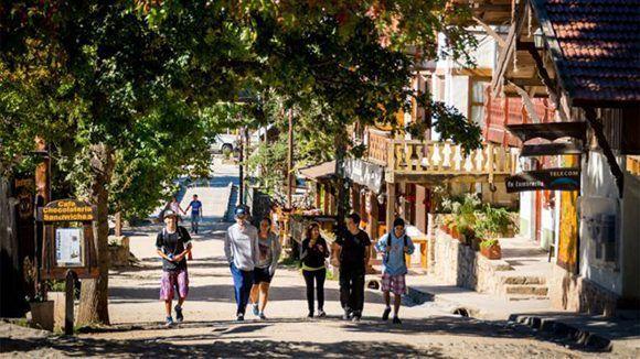 Un clima semihúmedo que nunca es muy caliente, aunque sí nieva, hace de este lugar un atractivo en verano e invierno. la cumbrecita argentina. Foto: Comuna La Cumbrecita.