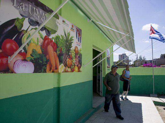 Mercado La Uva, de Frutas Selectas. Santa Clara. Foto: Ismael Francisco/Cubadebate.