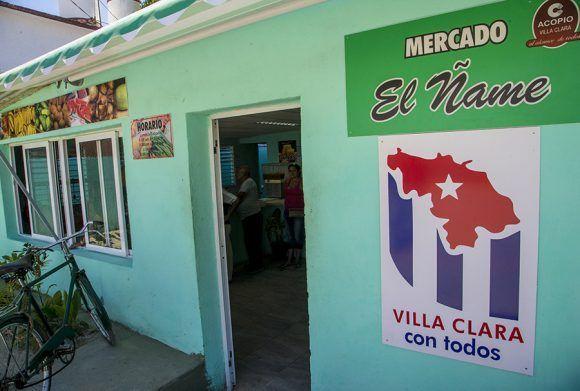 Mercado el Ñame. Santa Clara. Foto: Ismael Francisco/Cubadebate.