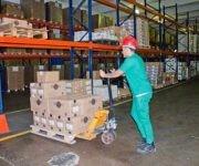 Desde los almacenes de Emcomed se realiza la distribución a las droguerías provinciales y luego a las farmacias.