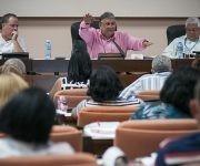 Marino Murrilo, Presidente de la comisión de implementación de los lineamientos. Foto: Irene Pérez/ Cubadebate.