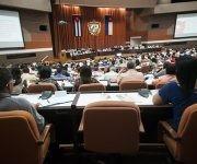 La Asamblea Nacional sesiona en el Palacio de las Convenciones. Foto. Irene Pérez/ Cubadebate.
