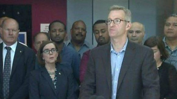 El alcalde de Portland, Ted Wheeler, condenó lo ocurrido y le expresó su apoyo a las comunidades de inmigrantes. Foto: Reuters.