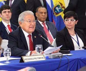 Sánchez Cerén pidió abordar la reunión con respeto y buscar caminos de diálogo para Venezuela. | Foto: Celac