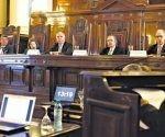 Horacio Rosatti, Carlos Rosenkrantz y Elena Highton formaron la mayoría. Juan Carlos Maqueda y Ricardo Lorenzetti se opusieron. (Imagen: Joaquín Salguero/ Página 12.