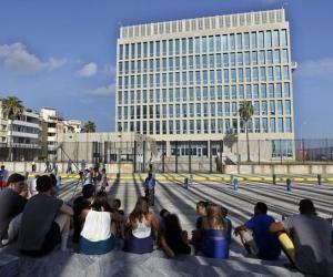 Embajada de Estados Unidos en La Habana. Foto: EFE.