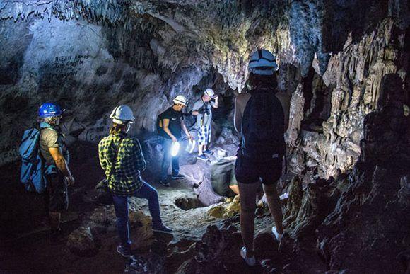 La Cueva de los Panaderos constituye uno de los principales atractivos arqueológicos del patrimonio de Gibara, ciudad costera ubicada al norte de la provincia de Holguín, Cuba, el 24 de mayo de 2017. Foto: Juan Pablo Carreras/ ACN.