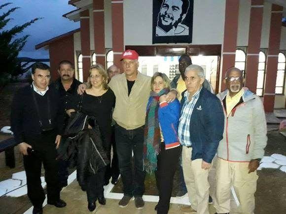 Miguel Díaz-Canel recorre lugares relacionados con el Che en Bolivia. Foto: Embajada de Cuba en Bolivia.