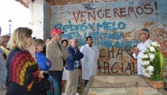 Primer vicepresidente cubano, Miguel Díaz-Canel, visita Bolivia. Foto: Agencias.
