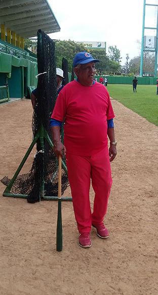 Primitivo Díaz aportará mucha sapiencia desde el cajón de coach. Foto: Michel Contreras/Cubadebate.