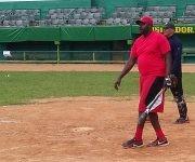 Lazo no se acomoda en los entrenamientos. Foto: Michel Contreras/Cubadebate.