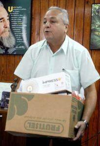 """""""Poco a poco avanzamos en los encadenamientos productivos, aunque admito que todavía nos faltan recursos como los envases de mayor calidad"""", expresa Juan Carlos Rodríguez, director de Frutas Selectas."""