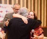 Juan Carlos Camaño y Rosa Miriam Elizalde, Presidente y Vicepresidenta Primera electos de FELAP. Foto: Jorge Arias.