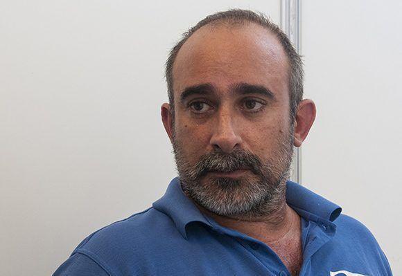 Luis Guerra Rosell, presidente de la Cooperativa 2MyR. Foto: Irene Pérez/ Cubadebate.
