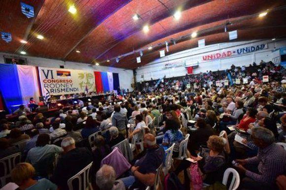 El Frente Amplio se prepara para las elecciones de 2019 en Uruguay. Foto: @Frente_Amplio