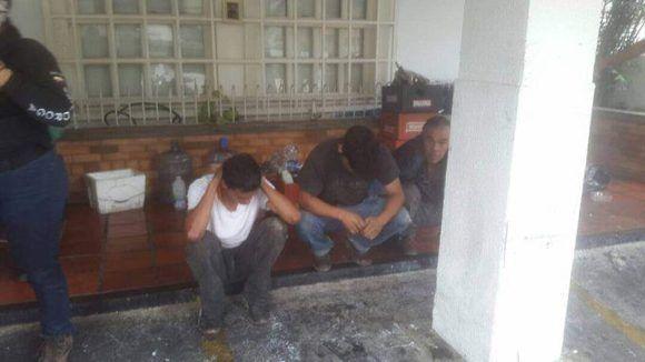 Oposición venezolana genera fuertes hechos violentos en Miranda, Bolívar, Lara y Barinas. @ViceVenezuela