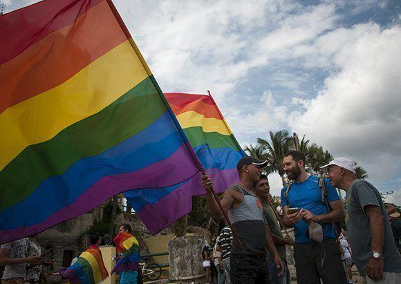 Conga por la diversidad en La Habana