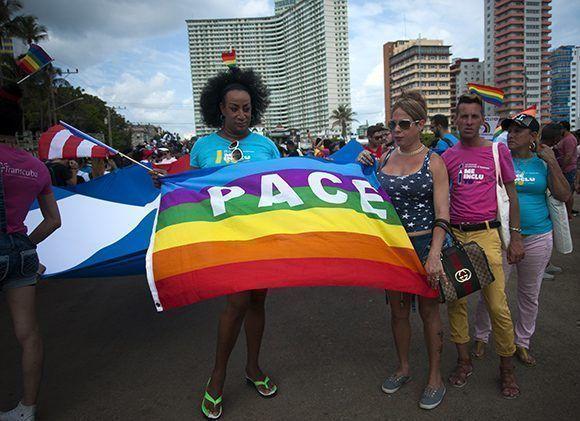Décima jornada cubana contra la homofobia y la transfobia. Foto: Irene Pérez/ Cubadebate.