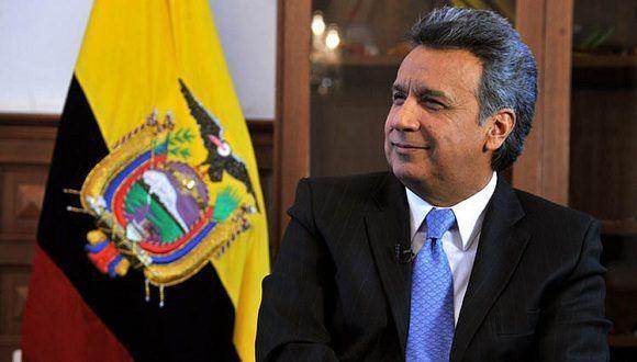 Lenin Moreno, presidente de Ecuador. Foto: Tomada de Prensa Latina.