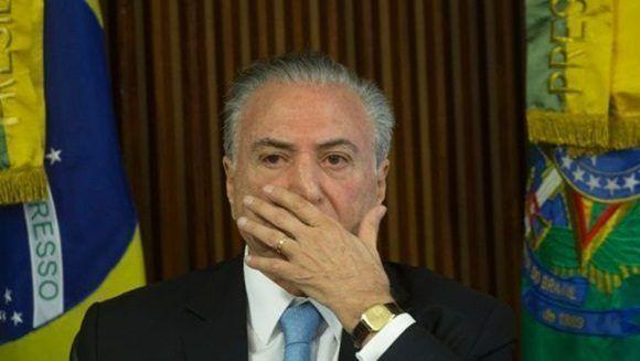 """En Brasil cunde el rechazo a Temer con la exigencia: """"elecciones directas ya"""""""