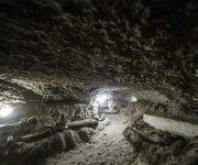 Las catacumbas son unas galerías subterráneas que algunas civilizaciones antiguas utilizaron como lugar de enterramiento. Foto: AFP.