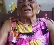 Rita Arminda con sus 102 años. Foto: Enrique Atiénzar